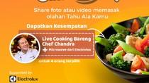 Suka Masak? Yuk, Ikutan Back to Back Cooking Berhadiah Microwave!