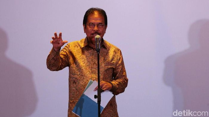 Menteri ATR/BPN Sofyan Djalil/Foto: Agung Pambudhy