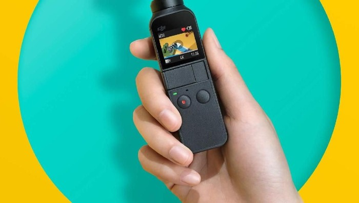 DJI Osmo Pocket. Foto: Dok. DJI