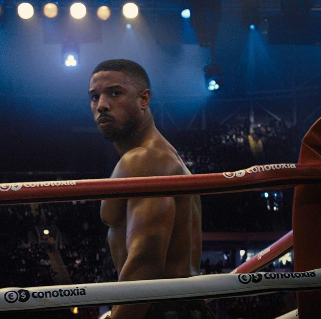 Cara Michael B Jordan Tampil Berotot di Creed II