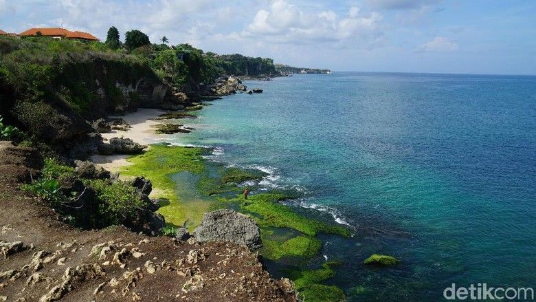 Pantai Tegal Wangi di Jimbaran (Syanti/detikTravel)