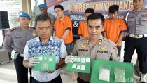 Polisi Amankan 3 Budak Narkoba yang Dikendalikan Jaringan Lapas