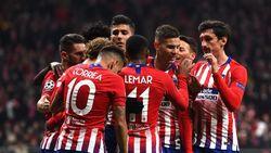 Hasil Liga Champions: Kalahkan Monaco, Atletico Lolos ke 16 Besar