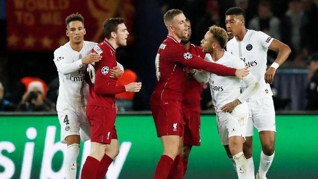 PSG sukses mengalahkan Liverpool di Parc des Princes.
