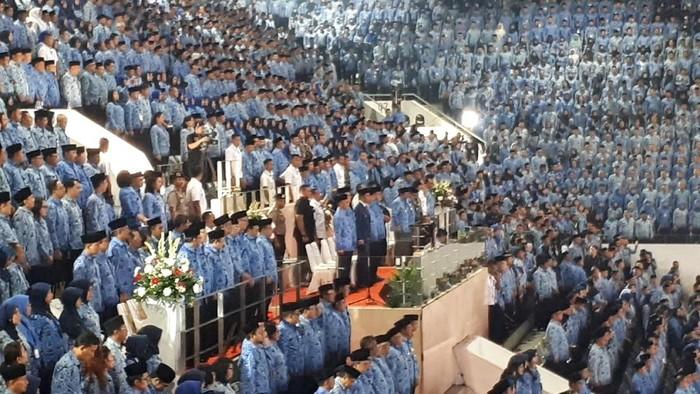 Jokowi hadiri hut korpri