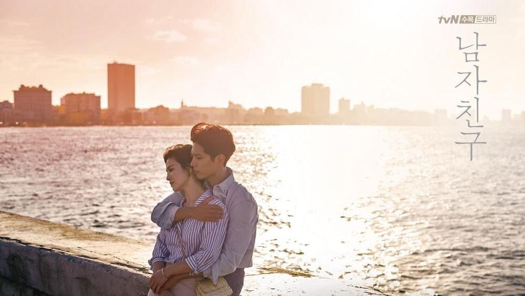 Park Bo Gum Tak Hapus Jejak Ciuman dengan Song Hye Kyo di Drama Encounter