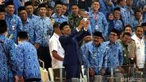 Di HUT ke-47 Korpri, Jokowi Minta ASN Tak Terjebak Ego Sektoral