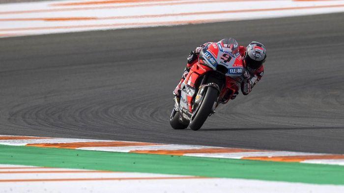 Danilo Petrucci tercepat di hari pertama tes MotoGP Jerez. (Foto: Mirco Lazzari gp/Getty Images)