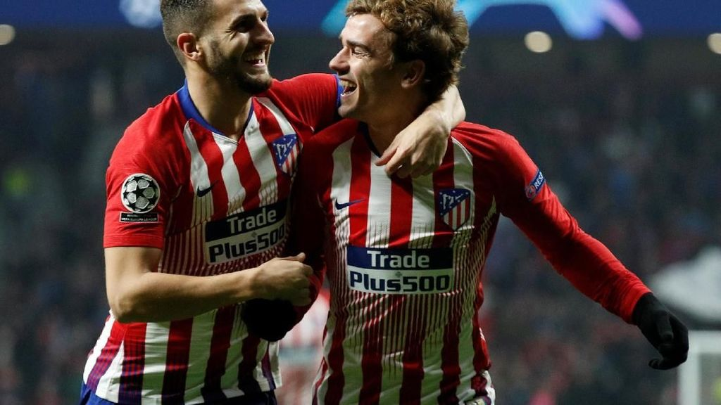 Griezmann Lega Atletico Akhirnya Lolos ke 16 Besar