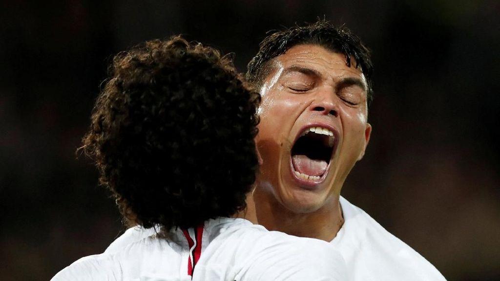 Thiago Silva Penyebab Liverpool Buntu di Paris