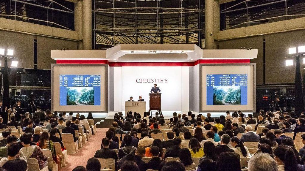 Lukisan Langka Megamendung Raden Saleh Terjual Rp 31 M di Hong Kong