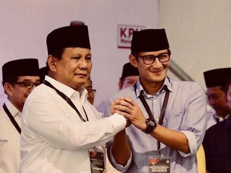 Jelang Debat, Prabowo-Sandiaga Perkuat Ikatan Hati dengan Rakyat