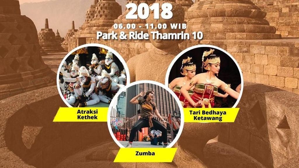 Kemegahan Candi Borobudur Akan Hadir di CFD Jakarta