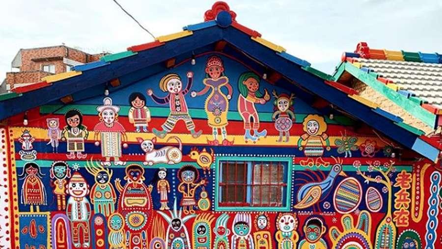 Rainbow Village, Karya Seni Pensiunan Tentara yang Bosan