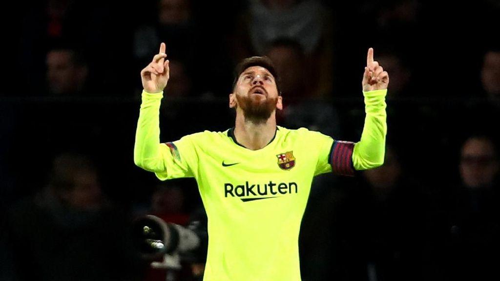Keajaiban Messi di Eindhoven