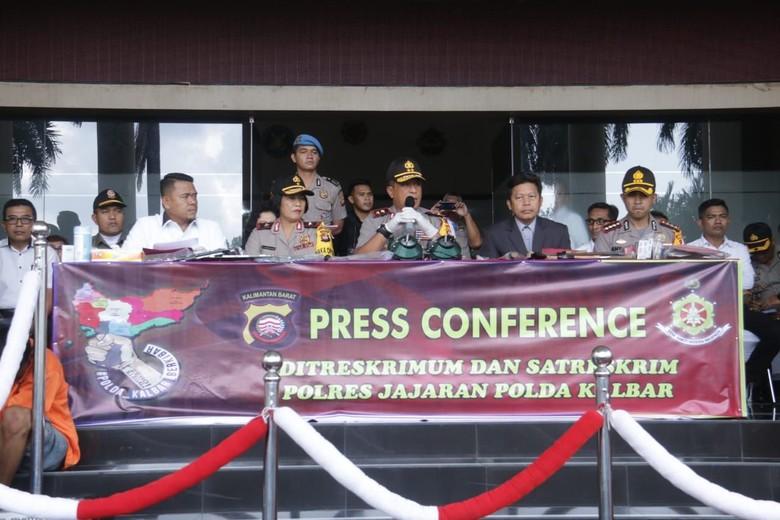 Polda Kalbar Ungkap Judi Dingdong Beromzet Miliaran