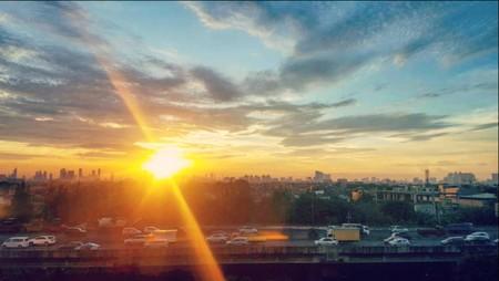 Last Sunset at Campus