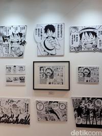 Para pecinta One Piece dapat melihat potongan cerita Luffy yang begitu mendebarkan dalam perjalanannya menjadi raja bajak laut (Afif Farhan/detikTravel)