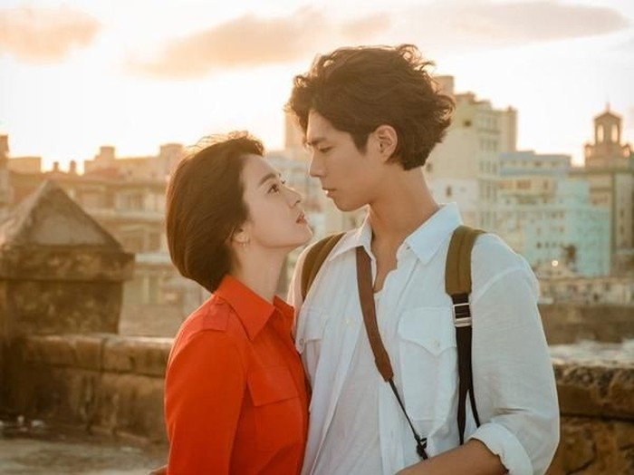 Song Hye Kyo di drama Encounter bersama Park Bo Gum. Foto: Dok. tvN