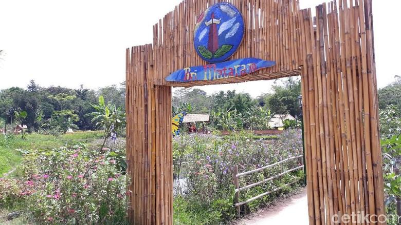 Puri Mataram di Dusun Drono, Tridadi, Sleman (Pradito/detikTravel)