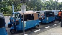Sopir Bajaj Demo di Balai Kota, Keluhkan Suplai Gas di SPBG