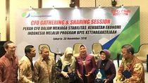 BPJS TK Ajak CFO Club Indonesia Peduli Manfaat Jaminan Sosial