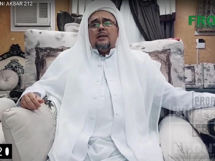 Di Malam Munajat 212 Habib Rizieq Bicara Penegakan Hukum Suka Suka