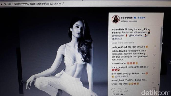Body goal Cinta Laura. Foto: Repro Instagram