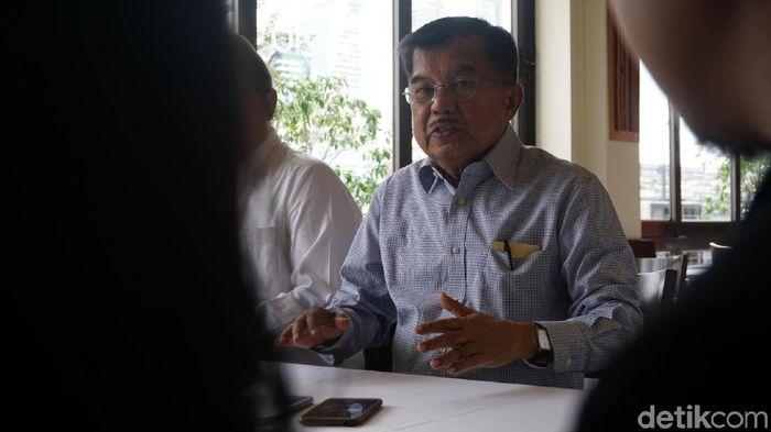 Wakil Presiden Jusuf Kalla (JK)/Foto: Bagus Prihantoro Nugroho/detikcom