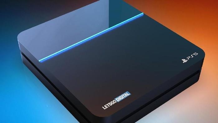 Bocoran teranyar mengenai kemungkinan bentuk PS5 (Foto: LetsGoDigital via T3.com)