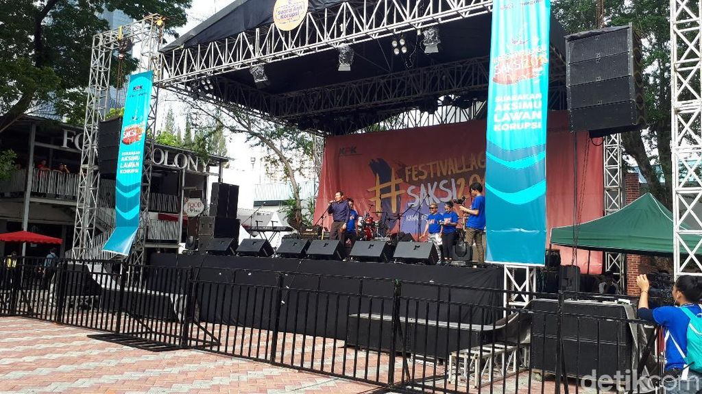 Bikin Festival Musik, Cara KPK Serukan Antikorupsi ke Milenial