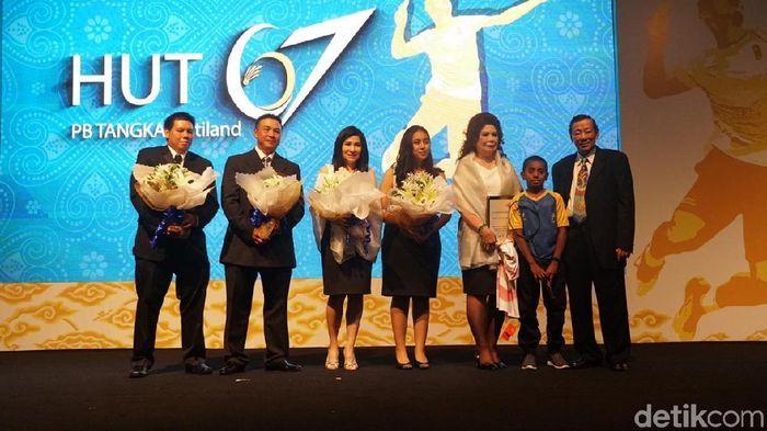 Justian Suhandinata, ketua umum PB Tangkas (Femi Diah/detikSport)