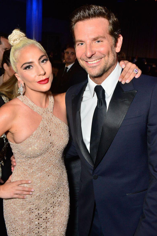 Lady Gaga dan Bradley Cooper terlibat project film bersama yakni A Star is Born.Jerod Harris/Getty Images for American Cinematheque