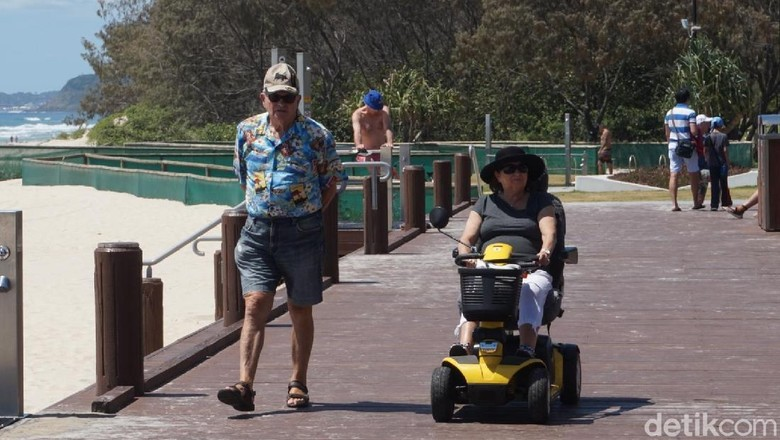 Cara menikmati Gold Coast, Australia (Melisa/detikTravel)
