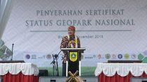 Menpar: Selamat, Banyuwangi Jadi Salah Satu 8 Geopark Nasional