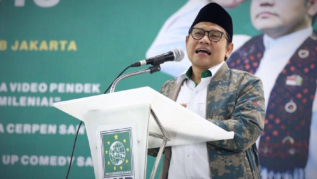 Di Depan Jokowi, Cak Imin Cerita Caleg Menang karena Tuah Kiai