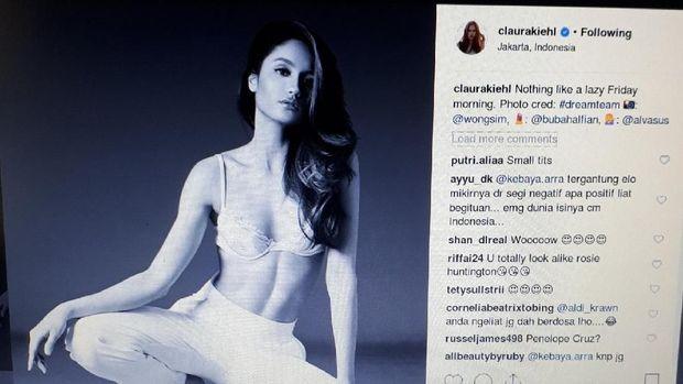 Cinta Laura Posting Ini, Jessica Iskandar: Itu Perut Apa Jalan Sudirman?