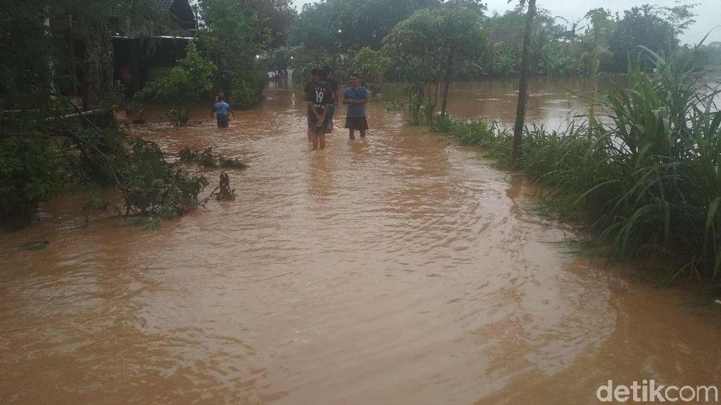 Hujan 7 Jam, Sebagian Desa di Trenggalek Terendam Banjir