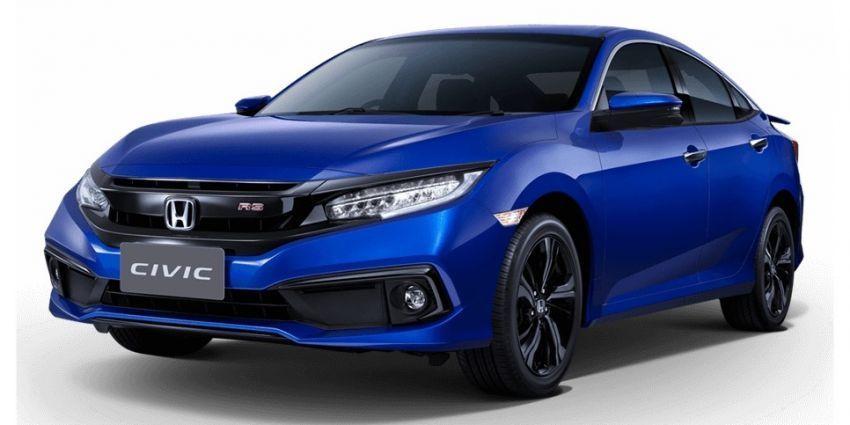 Honda Civic diimpor dari Thailand ke Indonesia.