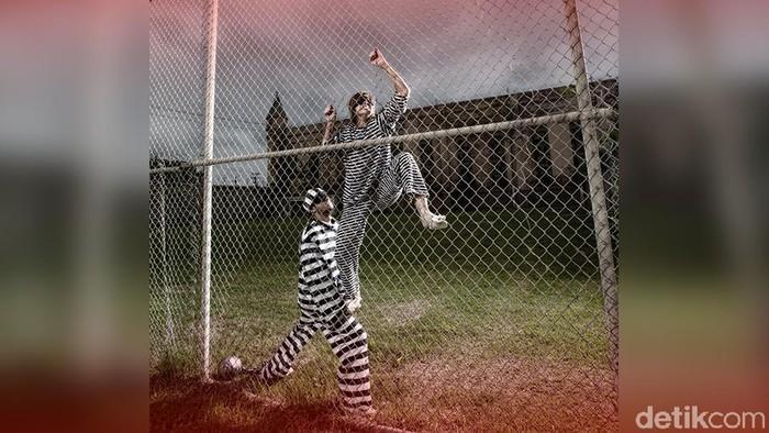 Ilustrasi napi/tahanan kabur (Andhika-detik)