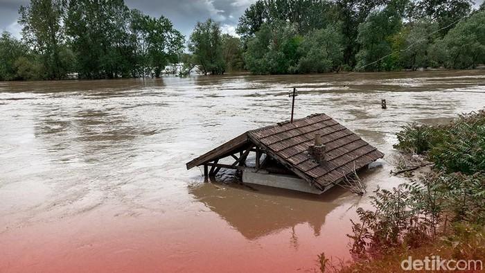 Ilustrasi banjir bandang (Andhika-detikcom)