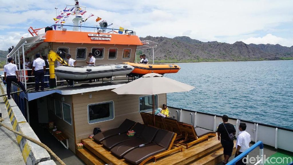 Kapal ke Komodo Diluncurkan, Gubernur Harap Bisa Bantu Konektivitas Wisata NTT