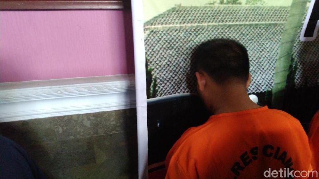 Polisi Tangkap Penyelundup Sabu-sabu Lewat Anus ke Lapas Ciamis