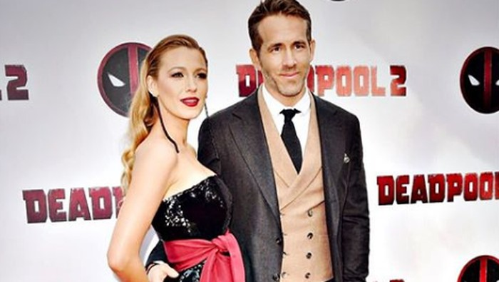 Ryan Reynolds dan Blake Lively