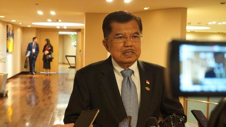 JK: Ramai Tahun Politik di Alam Maya, Bukan di Lapangan