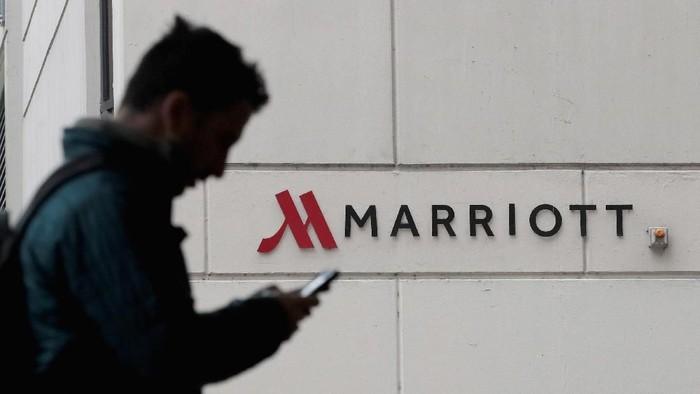 Database reservasi Marriott dibobol hacker. Foto: Scott Olson/Getty Images