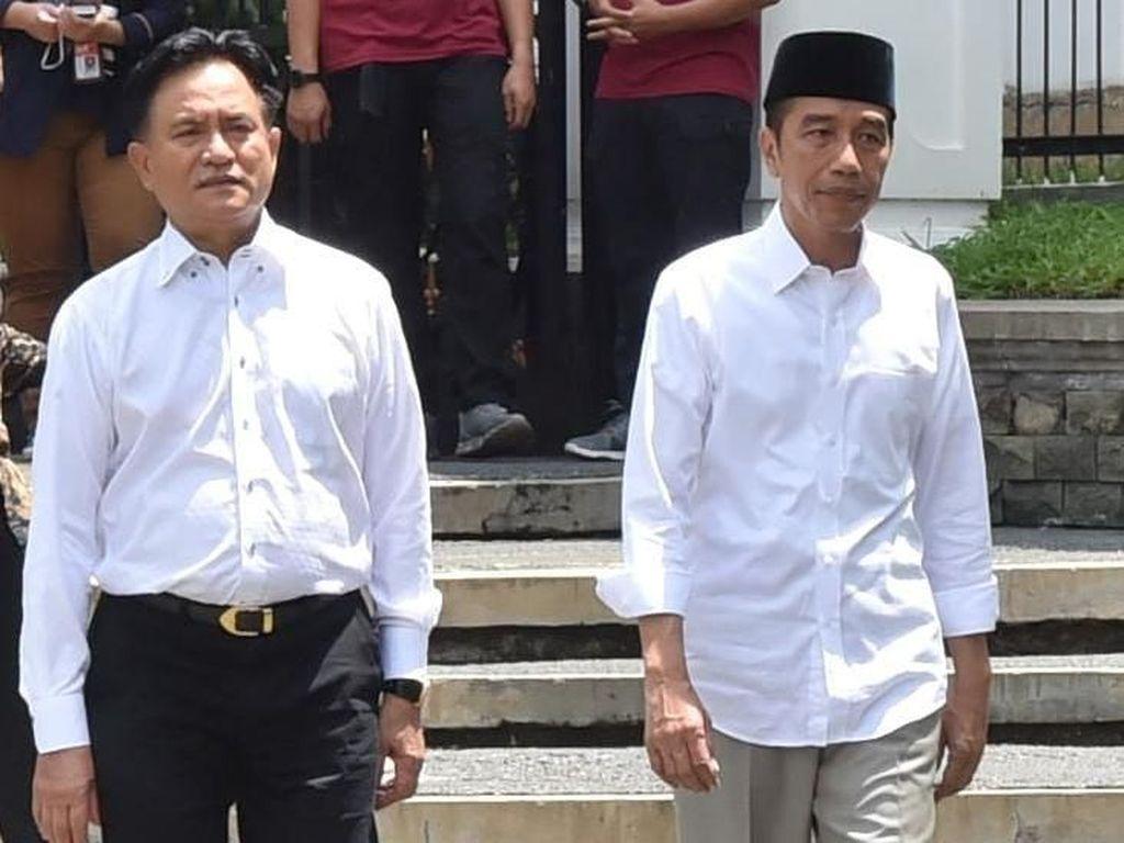 Yusril dan Jokowi Rembukan Permudah Syarat Abu Bakar Baasyir
