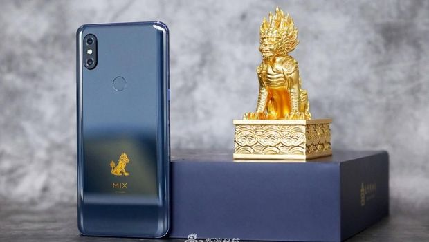 Mi Mix 3 Forbidden City punya RAM 10 GB.