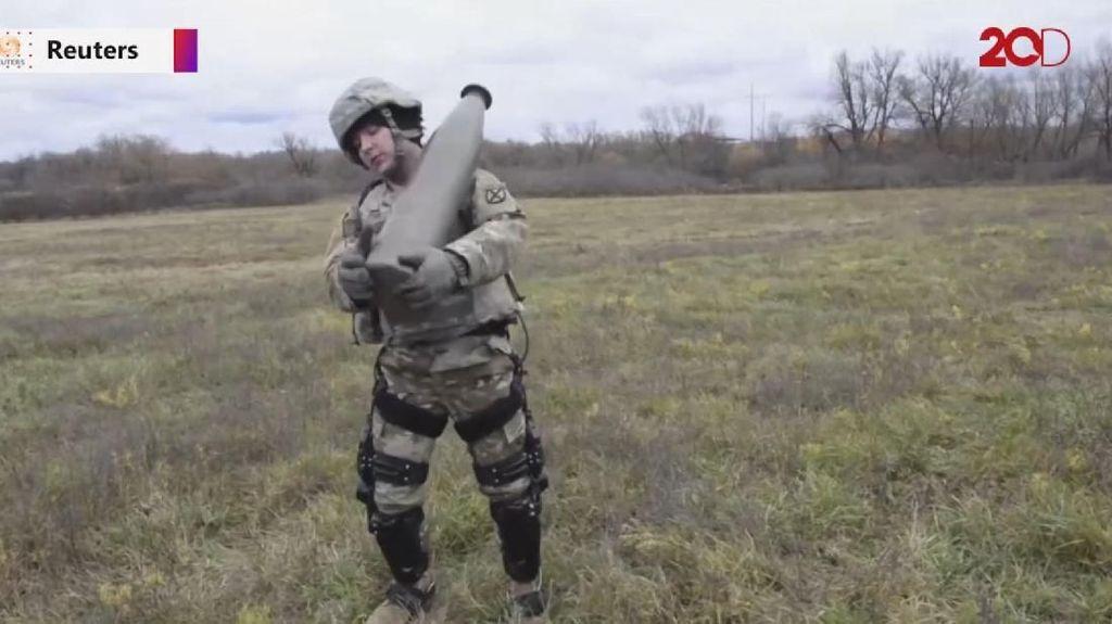 Exoskeleton Mengubah Prajurit Super