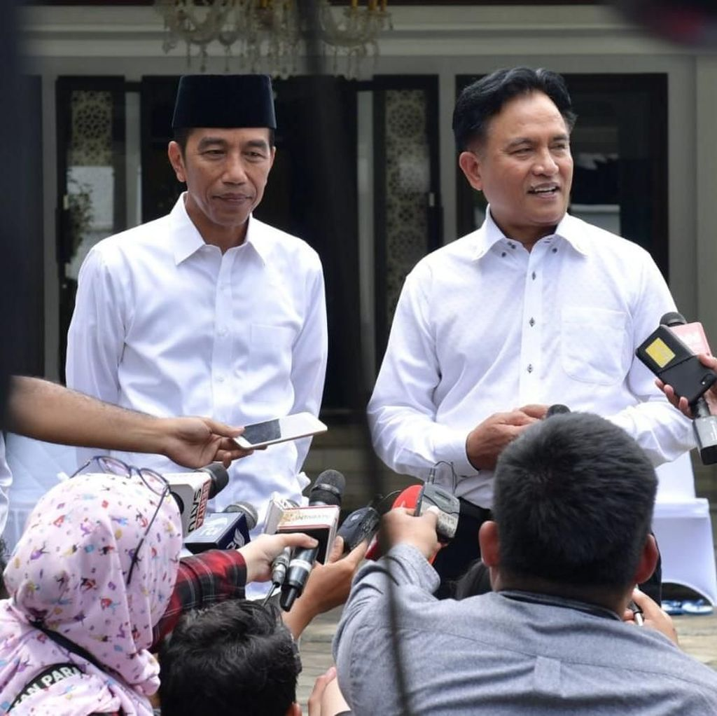 Yusril: Jokowi Bilang Mudahkan Syarat Pembebasan Baasyir